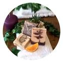 Csokis-mézeskalácsos  szappancsomag 320g, Szépségápolás, Szappan, tisztálkodószer, Szappankészítés, Csokoládés és mézeskalács illatú szappancsomag  Tartalma:  1db Csokivarázs szappan - narancs, szegf..., Meska