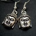 Buddha fülbevaló, Ékszer, Fülbevaló, Buddha nyugalmával ajándékoz meg ez a Buddha fejet ábrázoló fülbevaló, legalábbis, ha nem vagy idege..., Meska