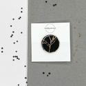 Night shadow kitűző No1, A Night Shadow kollekció a mindig elegáns fekete...