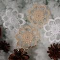 Horgolt hópihe, Dekoráció, Ünnepi dekoráció, Karácsonyi, adventi apróságok, Karácsonyfadísz, Horgolás, Igazi hópihe...vagy mégsem? :) Gyönyörű, könnyed, légies...mintha valódiak lennének ezek hópihék! :..., Meska