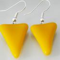 Narancssárga színű extra vagány fülbavaló, A Solo kollekció kitűnő darabja lehet a ruhatá...