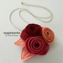 Rózsa medál láncon - rózsaszín álom, Akciós termék: eredeti ára 2300 Ft, most 1500 F...