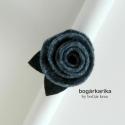 Rózsa gyűrű - tinta, A gyűrű alapja állítható, a rózsa mérete le...