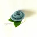 Rózsa gyűrű - tavaszi szél, A gyűrű alapja állítható, a rózsa mérete le...