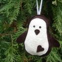 Függeszthető dísz - pingvin (boGarkrea) - Meska.hu