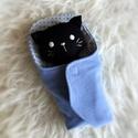 Bébi cica pólyában -  fekete (boGarkrea) - Meska.hu