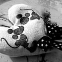 Levendulazsák - Mickey és Minnie, Levendulás illatpárna transzfer technikával ké...