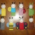 Bogyó és Babóca ujjbábok (8 db), Baba-mama-gyerek, Játék, Gyerekszoba, Báb, Varrás, Kézi varrással készült gyapjúfilc ujjbábok. Kérésre a mese bármely figuráját szívesen elkészítem. Á..., Meska