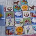Textil memória játék, Játék, Készségfejlesztő játék, Varrás, A memóriajáték az egyik legismertebb és legkedveltebb játéka a 2-6 éves gyermekeknek. Inspirációt ó..., Meska