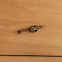 Bronz színű holló koponyás ékszer, raszta dísz, műraszta, raszta ékszer, Ruha, divat, cipő, Hajbavaló, Ékszerkészítés, Bronz színű steampunk stílusú raszta dísz holló koponyával.  A  lyuk átmérője: 5,1  mm  5-7 mm-es r..., Meska