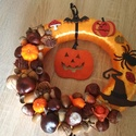 Halloween ajtódísz, A képeken látható halloween-i motívumokkal dí...