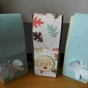 hosszú doboz, Dekoráció, Dísz, Papírművészet, A doboz akár csokoládé, akár keskeny ajándék átadására szolgálhat. Többféle színben készül, scrapbo..., Meska