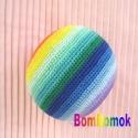szivárvány footbag (BomBomok) - Meska.hu