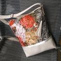 rózsás táska, Táska, Baba-mama-gyerek, Válltáska, oldaltáska, Ez a táska Neked készült, ha hamar kosárba teszed és átutalod az árát 3 óra előtt, akkor aznapi fela..., Meska