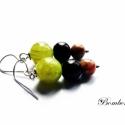 Istanbul újra- Rékának lefoglalva, Zöld jáde, fa és őszi jáspis gyöngyökből k...