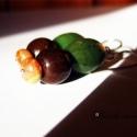Isztambul megrendelés-Beának lefoglalva, Jáspiskövekből és fa gyöngyökből készült ...