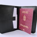 Útlevéltok,valódi bőr útlevéltartó, bankkártyatartó, Táska, Férfiaknak, Mindenmás, Pénztárca, tok, tárca, Utazz stílusosan! Valódi bőrből készült útlevéltartó. Belefér az útlevél, beszállókártya, személyi i..., Meska