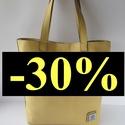 AKCIÓ! valódi bőr válltáska, Táska, Válltáska, oldaltáska, Marhabőrből készült vajszínű/ halványsárga táska, most az őszi leárazás keretében 30 % kedvezménnyel..., Meska