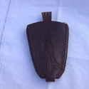 Örök klasszikus kulcstartó, Marhabőrből készült a régi idők divatját id...
