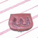 Bőr pénztárca, Rátét mintás pénztárca, mely belül 2+ 1 reke...