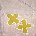 Sárga virágos kis táska, Baba-mama-gyerek, Táska, Tarisznya, Egy kis kitérő a bőr világából. Szövött alap anyagból készült kislány táska. Fedelét két sárga virág..., Meska