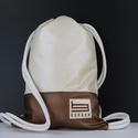 Bronze Borger hátizsák, Táska & Tok, Hátizsák, Gymbag, Varrás, Hímzés, Stílusos táska a hétköznapi használatra tervezve. Kényelmesen elfér minden dolgod, amit isko..., Meska