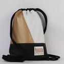 Bright Glow Borger hátizsák, Táska & Tok, Hátizsák, Gymbag, Hímzés, Varrás, Stílusos táska a hétköznapi használatra tervezve. Kényelmesen elfér minden dolgod, amit isko..., Meska