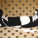 Tornacipő-zokni:), Ruha, divat, cipő, Cipő, papucs, Horgolás, Ez a pár tornacipő hasonló a converse mamusz termékemhez, de ez inkább zokni fazonú:) A cipő és a f..., Meska