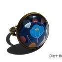 VIRÁGOSKERT-kollekció: gyűrű. :), Ékszer, Gyűrű, Ki nem szereti a virágokat? Főleg, ha a divatot ennyire meghatározzák. Mindegy milyen színű, formájú..., Meska
