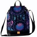 """Álomfogós  vízálló """"ANDI"""" 3 az 1-ben női táska/hátizsák zárófedéllel , Álomfogós  vízálló designer szövetből és f..."""