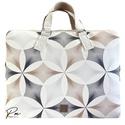"""""""élet virága"""" mintás """"EDIT"""" laptop táska designer textilbőrből , Különleges """"Élet virága"""" mintás designer ..."""