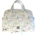 """Réti virágos textilbőr """"ZSUZSA"""" kézi és válltáska, Egy igazi klasszikus női táska! Réti virágos d..."""