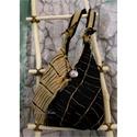 FELE-MÁS design-táska, Táska, Ruha, divat, cipő, Válltáska, oldaltáska, Női ruha, Különleges márkás olasz designer anyagból készült válltáska extravagáns nőknek. Ezt a táskát az anya..., Meska