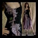 LYRA - design ruha , Ruha, divat, cipő, Női ruha, Blúz, Ruha, A művészi vintage stílus szerelmeseinek ajánlom e kollekcióm aprólékos munkával és sok-sok szeretett..., Meska