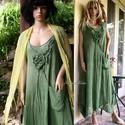 KIM - lagenlook design ruha, Nagyméretű hölgyeknek ajánlom  ezt a romantiku...