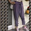 NÉGYFODROS selyembugyogó , Ruha, divat, cipő, Női ruha, Nadrág, Lehelet-könnyű, mosással-gyűrt viszkóz-selymekből készült darabjaim nyári ruhatárad kedvencei lehetn..., Meska