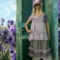 MILLIE - kétrészes ruha - baby-doll fashion design, Ruha, divat, cipő, Képzőművészet, Női ruha, Textil, Válogatott anyagokból összeállított lagenlook kreációm most a kis-méretű Nőknek ajánlom:  A babydoll..., Meska