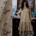 """KAMILLA - flapper-ruha - Lolita style fashion design, Ruha, divat, cipő, Női ruha, Ruha, Nadrág, Kedves apró-mintás pamutvászonból készült klasszikus""""csitri-ruha"""". Ezt a modellem különböző anyagokb..., Meska"""