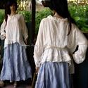 LÍNEA tunika-blúz  - lagenlook fashion design, A nyár slágere a romantikus-lagenlook szerelmese...