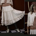 NYIRFÁCSKA kosztüm - kézműves lagenlook szett, Képzőművészet, Ruha, divat, cipő, Textil, Női ruha, MINTADARAB! Színekben, méretekben rendelhető! Az elkészítési idő az aktuális megrendelések számától ..., Meska