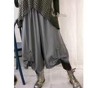 VENEZIA lagenlook szoknya-nadrág  , Ruha, divat, cipő, Női ruha, Nadrág, Különleges, szép esésű vékony gyapjúszövetből készült szoknyanadrágom. Egybeszabott bő fazon, elöl p..., Meska