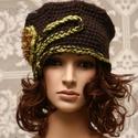 LORETTA - exkluzív kézműves kalap, Prémium minőségű extra-vastag selymes-fényű ...