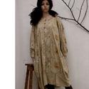 """MÁMOR - tunika-ruha : """"rózsakert"""", Új kollekciómat nyomott mintás pamutvásznakbó..."""
