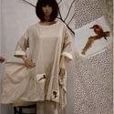 TITKOS KERT tunikaruha  - lagenlook design, Ruha, divat, cipő, Női ruha, Ruha, Új kollekciómat nyomott mintás pamutvásznakból terveztem a hangulatos lezserség jegyében. Bohém Nőkn..., Meska