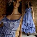 """LAGUNA  - lagenlook design-ruha , Ruha, divat, cipő, Női ruha, Ruha, Művészi-megjelenésű modellemben  hercegnőnek érezheted magad!   """"Laguna""""- ruháimat különböző színekb..., Meska"""