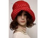 """MALINKA - nyári flapper kalap, Az 1920-as évek divatja köszön vissza """"Malinka""""..."""