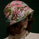 """MALINKA  cloche - retro-len flapper kalap, Ruha, divat, cipő, Női ruha, Kendő, sál, sapka, kesztyű, Sapka, Az 1920-as évek divatja köszön vissza """"Malinka"""" fantázianevű romantikus design-kalapjaimon.  Ez a kü..., Meska"""
