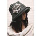 """ERNA cloche - gyapjúszövet flapper kalap, Az 1920-as évek flapper divatja köszön vissza """"..."""