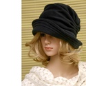 ERNA cloche - sötétkék polár flapper kalap  abc9761955