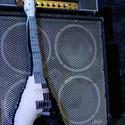 Gitár alakú párna - Fekete-fehér Gibson Flying V típusú gitár párna, Otthon, lakberendezés, Mindenmás, Hangszer, zene, Rock Párna / Fekete-fehér Gibson Flying V típusú Gitár Párna Rudolf Schenker (Scorpions) signa..., Meska
